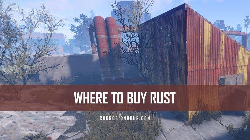 Rust accounts cheap