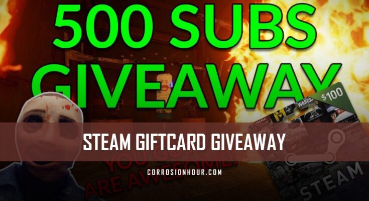 $100 Steam Gift Card Giveaway #2! – Misc