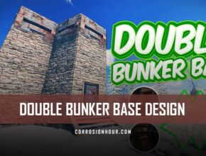 Double Bunker RUST Base Design