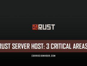 RUST Server Host