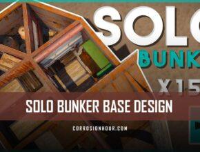 Solo Loot Box Bunker Base Design