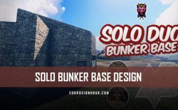 Solo/Duo Bunker Base Design