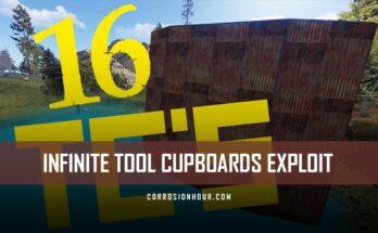 Infinite Tool Cupboards Exploit