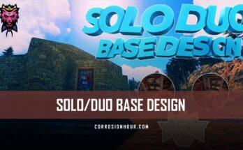 solo/duo rust base design