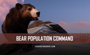 RUST Bear Population Command