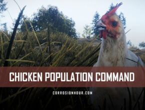 RUST Chicken Population Command