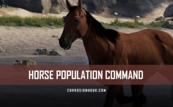 RUST Horse Population Command