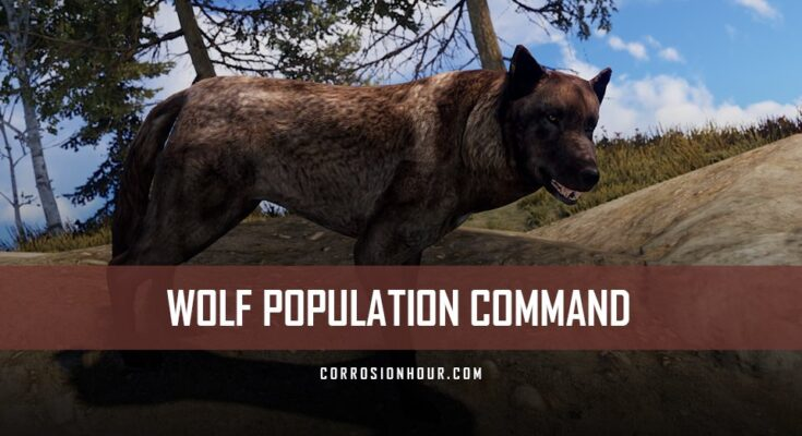 RUST Wolf Population Command
