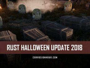 RUST Halloween Update 2018