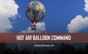 RUST Hot Air Balloon Command