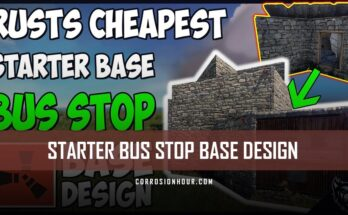 RUST Starter Bus Stop Base