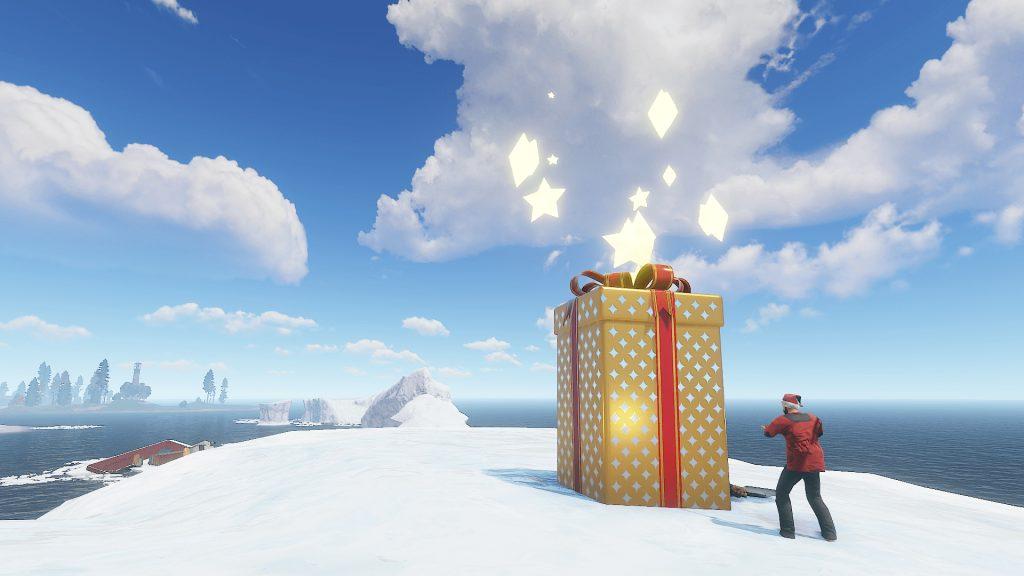 RUST Santa Present