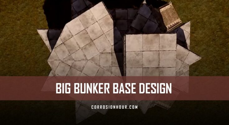 RUST Big Bunker Base Design (2019)