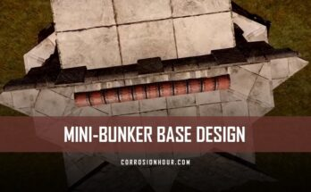 RUST Mini-Bunker Base Design