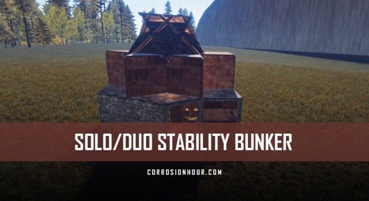 Stability Bunker Base Design
