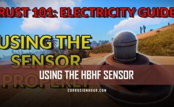 Using the HBHF Sensor