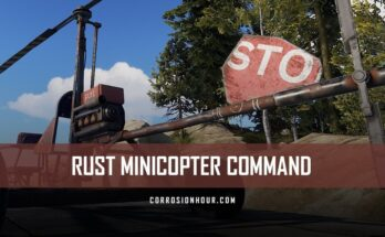 RUST Minicopter Command