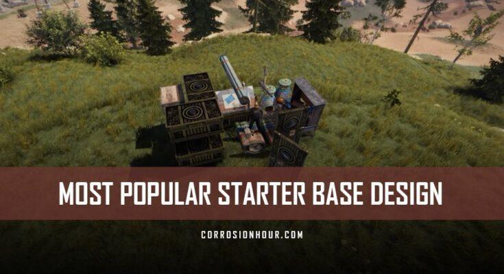 RUST Most Popular Starter Base Design 2019