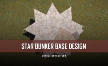 RUST Star Bunker Base Design 2019