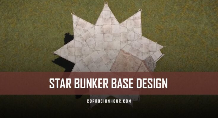 RUST Star Bunker Base Design 2019