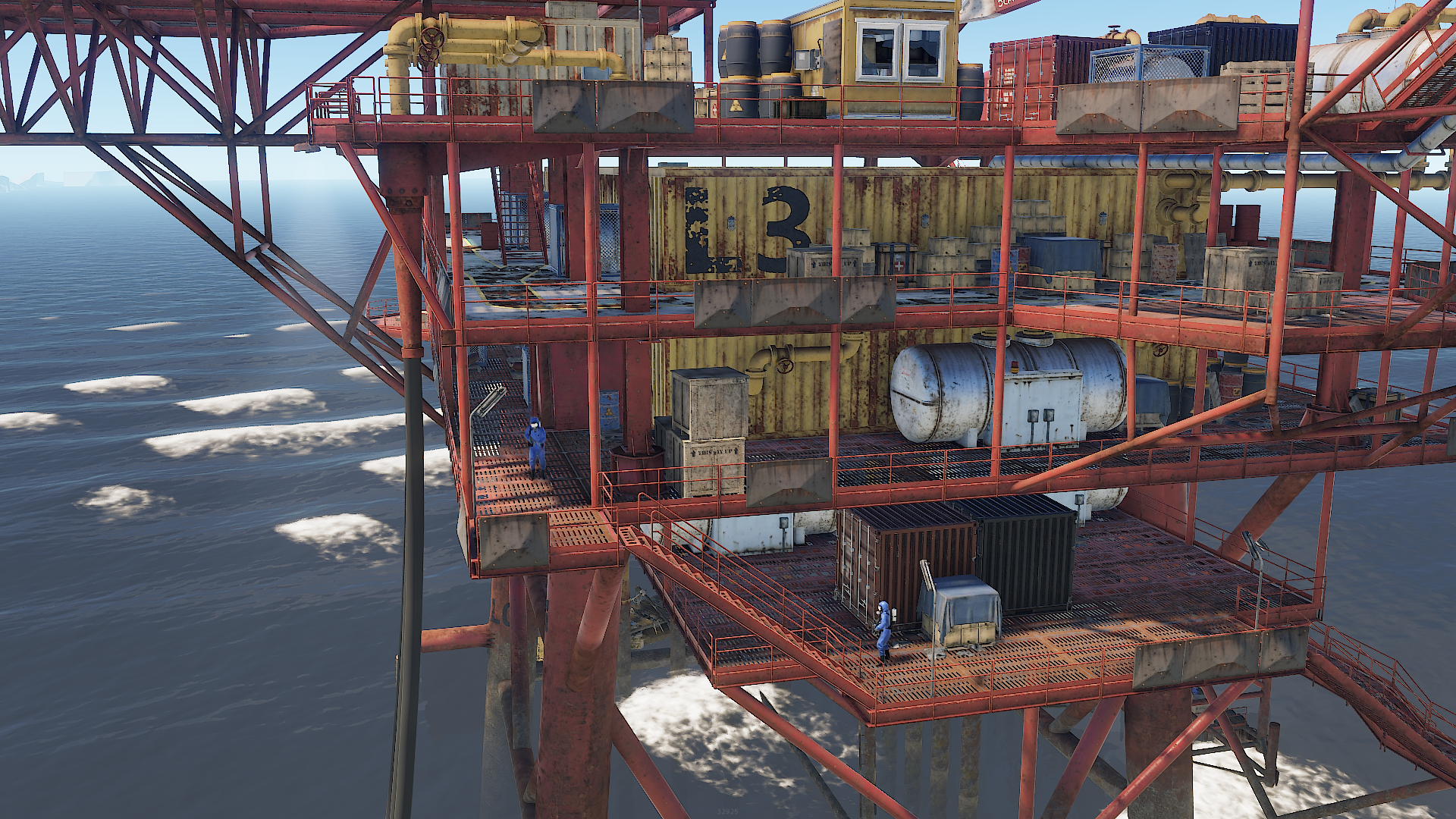 RUST Small Oil Rig Monument – RUST Monument Guides