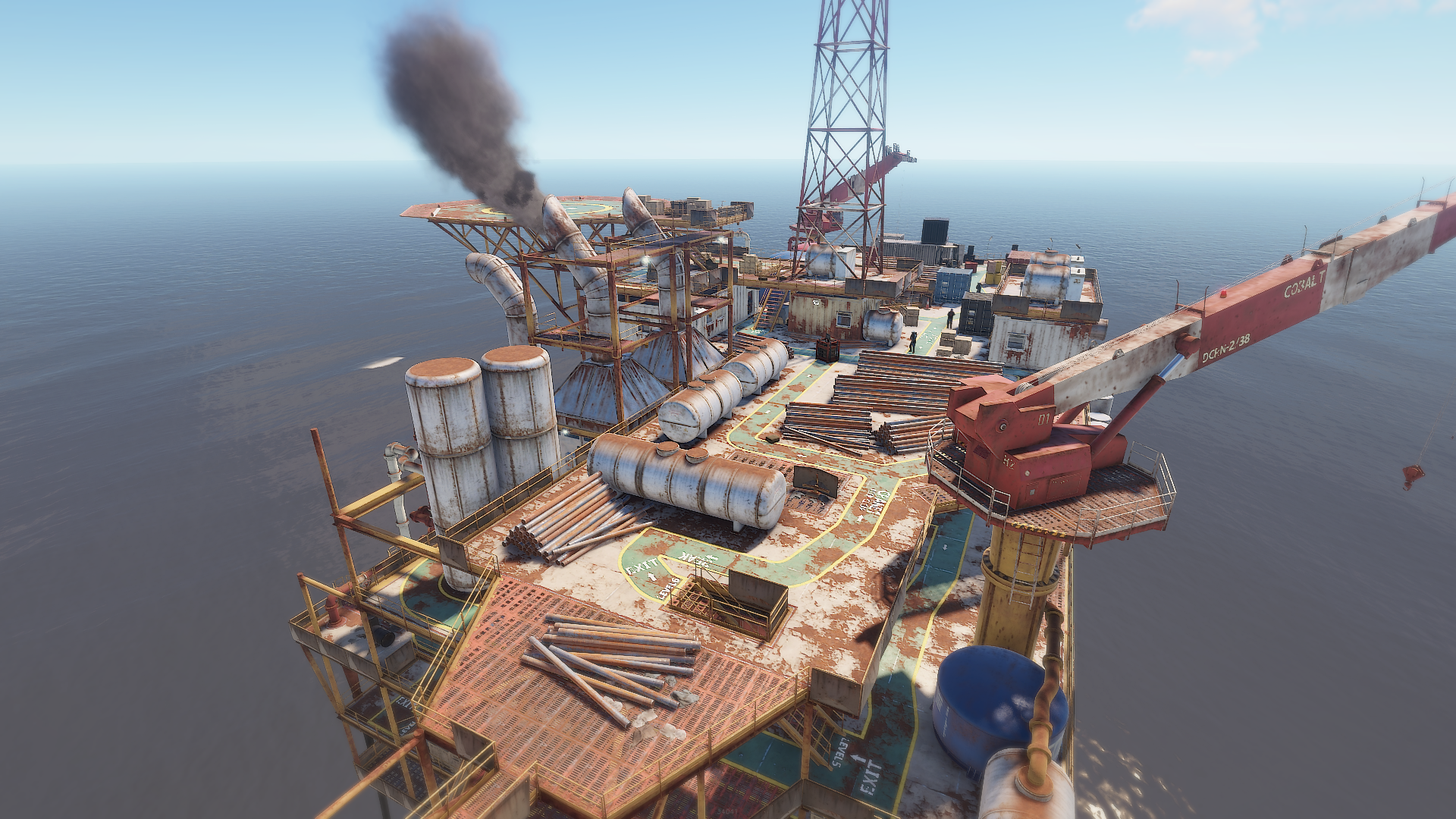 RUST Large Oil Rig Monument – RUST Monument Guides