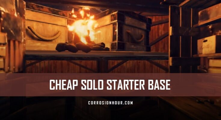 RUST Cheap Solo Starter Base