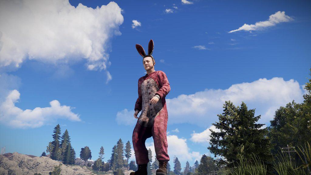 RUST Easter Event Bunny Onesie