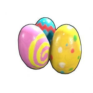 RUST Easter Event Painted Eggs