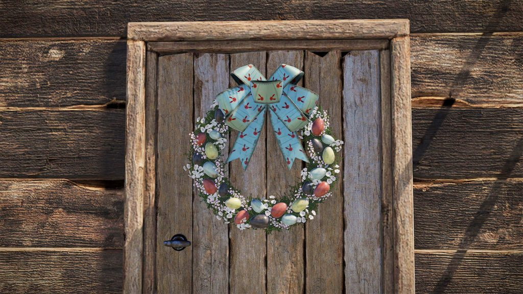RUST Easter Event Wreath