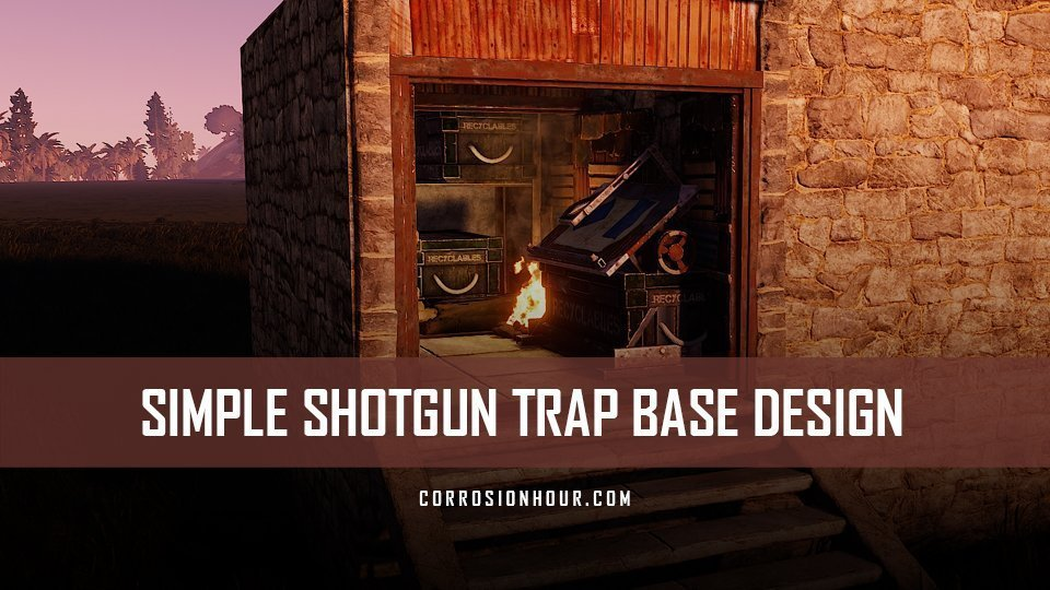 Todays Rust Trap Base | Asdela