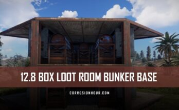 12.8 Box Loot Room Bunker Base