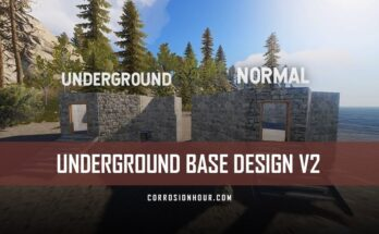 Underground RUST Base Design V2
