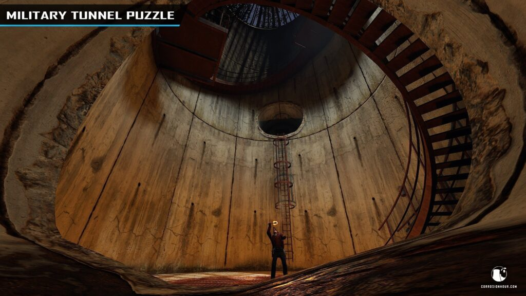 RUST Military Tunnel Puzzle Step 15
