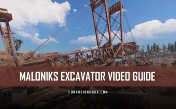 Malonik's RUST Excavator Monument Video Guide