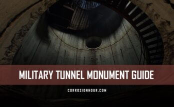 RUST Military Tunnel Monument Guide