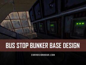 Reversible Bus Stop Bunker Base Design