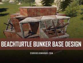 RUST Beachturtle Bunker Base Design 2019