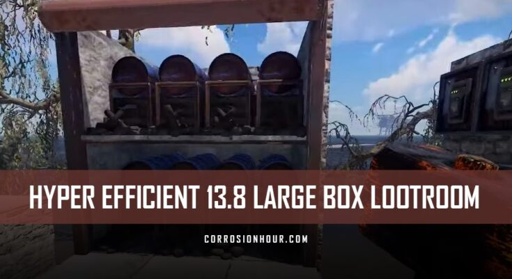 RUST Hyper Efficient Loot Room
