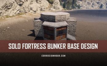 Solo Fortress Bunker Base Design