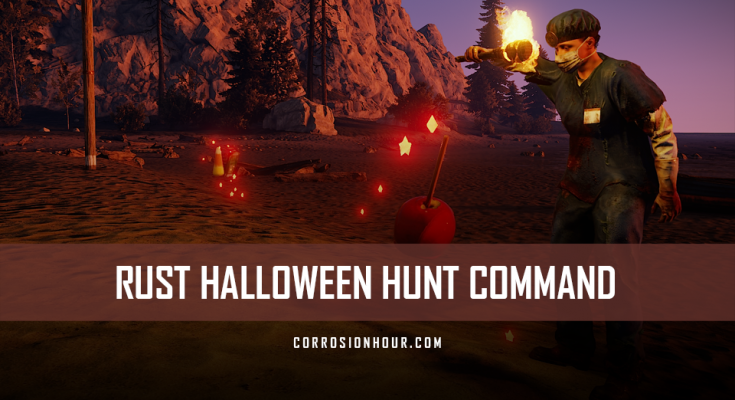 RUST Halloween Hunt Command
