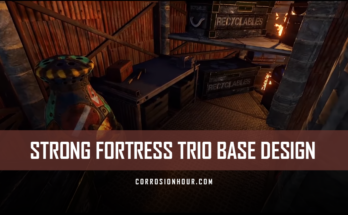 RUST Strong Fortress Trio Base Design