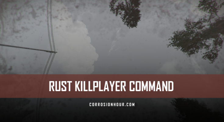 RUST Killplayer Command