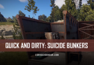 RUST Suicide Bunkers Quick and Dirty