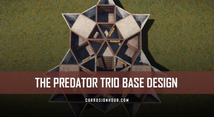 The Predator Trio RUST Base Design