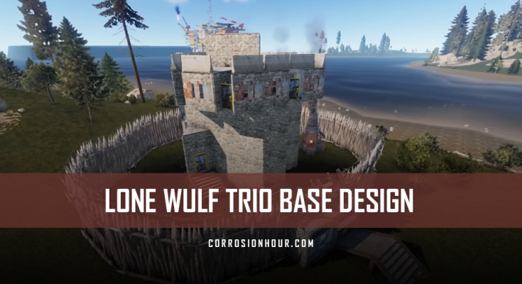 The Lone Wulf Trio Base Design