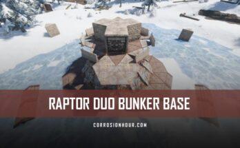 Raptor Duo Bunker Base Design 2020