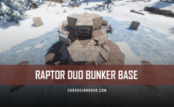 Raptor Duo Bunker Base Design 2020