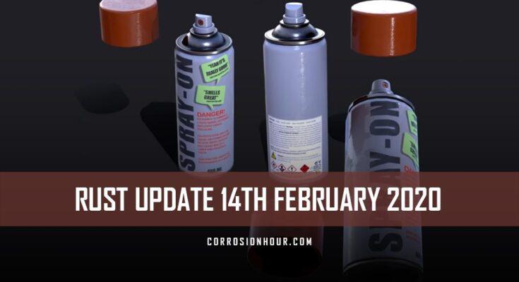 RUST Update 14th February 2020