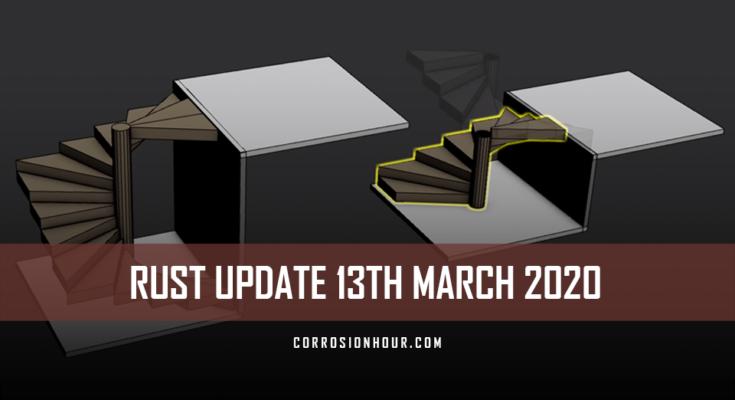 RUST Update 13th March 2020